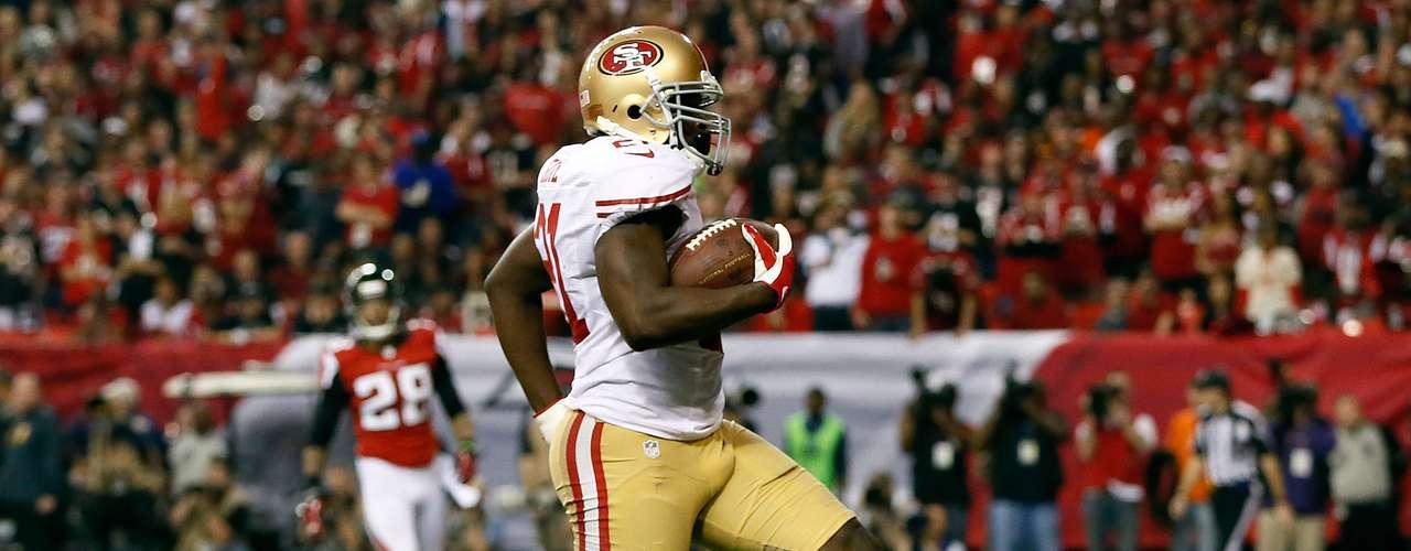Gore también corrió cinco yardas para un touchdown con lo que coronó una ofensiva de 82 yardas y con la que San Francisco abrió la segunda mitad del encuentro.