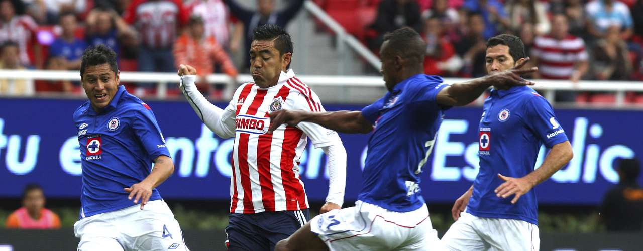 Chivas and Cruz Azul finished with a 1-1 draw. Javier Orozco put Cruz Azul ahead and Rafael Márquez equalized.