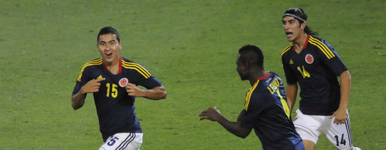 Juan Pablo Nieto scored in the 50th minute for Colombia.
