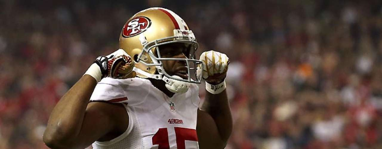 Niners receiver Michael Crabtree was in a grateful mood after Sunday's win over Atlanta.
