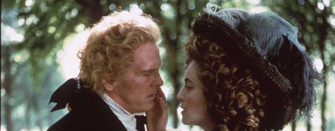 Nick Nolte got up-close-and-personal with actress Greta Scacchi while interpreting Thomas Jefferson in \