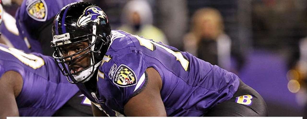 Ditto for Ravens lineman and famous subject of 'The Blind Side,' Ravens lineman Michael Oher.