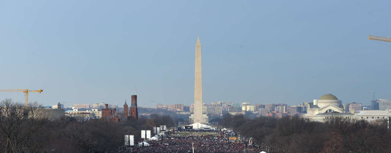 En 2013, el número de asistentes fue mucho menor - se estima que entre 600 y 800 mil personas.