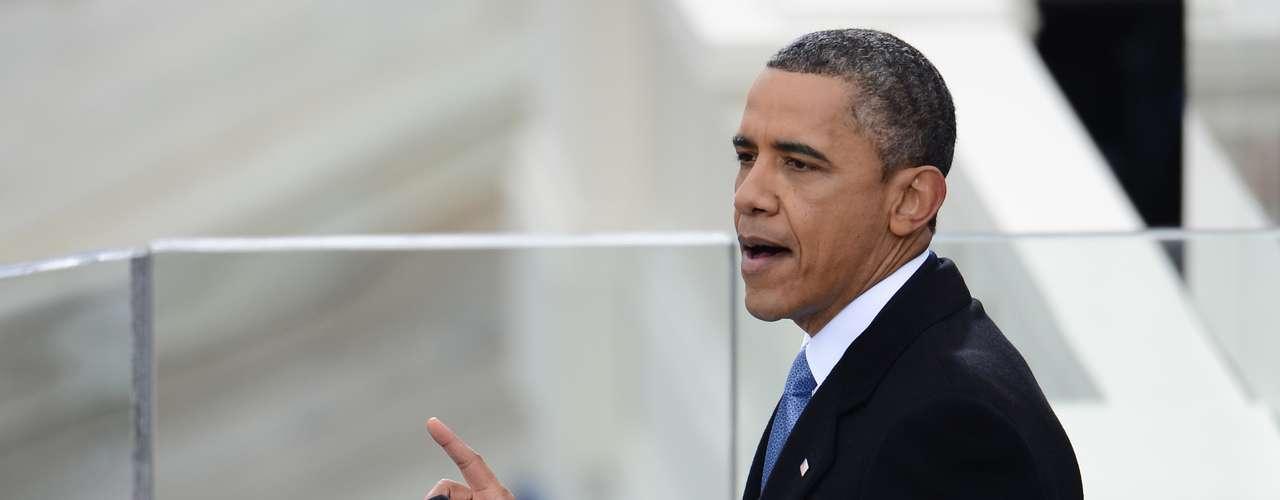 En 2013, el presidente reelecto pidió unión y esfuerzo a los estadounidenses para enfrentar los desafíos de los próximos cuatro años. \