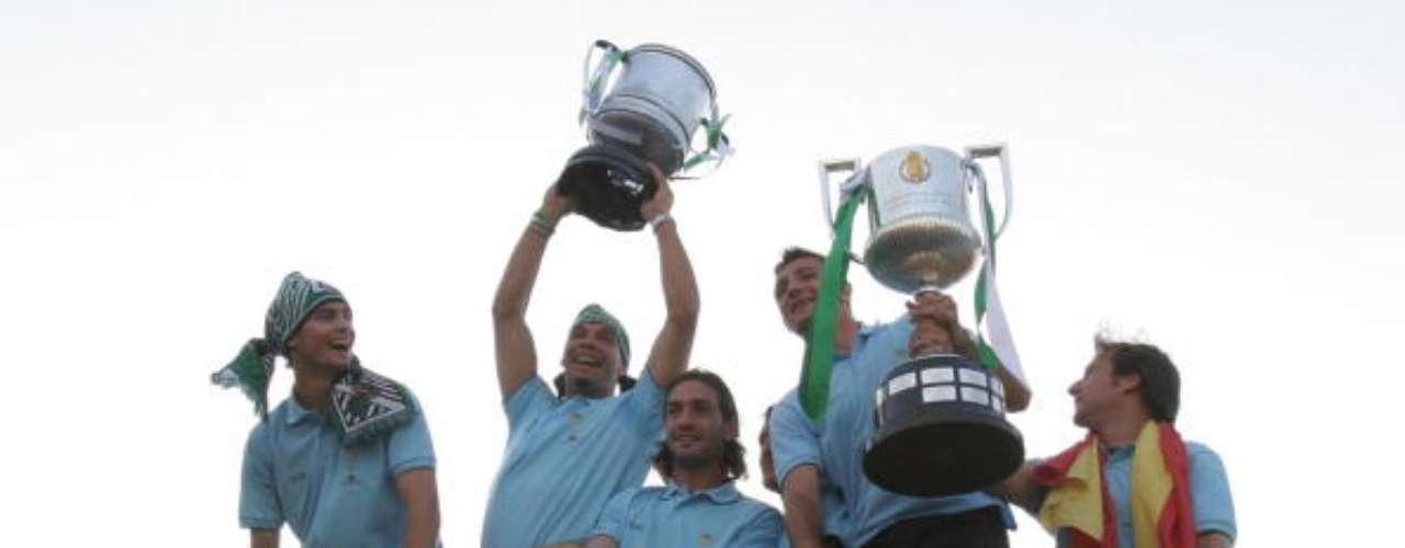 Real Betis tiene doscampeonatos; el último, conseguido en 2005.