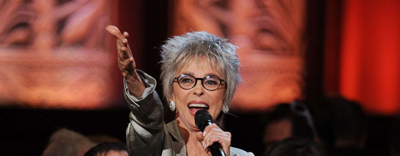 The San Antonio philanthropist and business leader, Henry Muñoz III, who was involved in coordinating the event, said this is a special moment in the Latino community, which is in a position to assume a larger role in shaping the country's future. Actress Rita Moreno (pictured) was also in attendance.