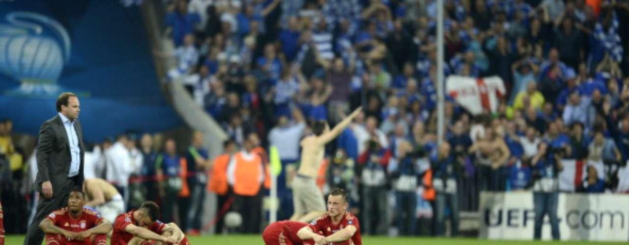 Lo que en principio era un sueño terminó en pesadilla. Bayern Munich jugó la Final del 2012 ante Chlesea en su estadio, pero el campeón fue el visitante
