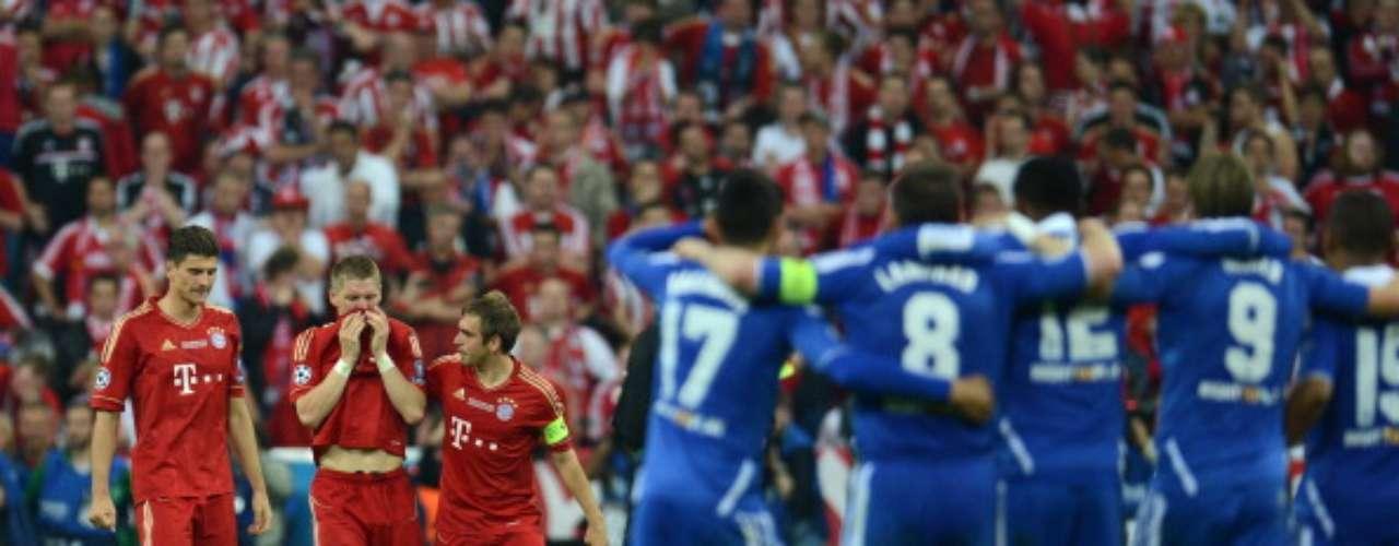 El club bávaro perdió la final en el Allianz Arena ante Chelsea en los penaltis, tras terminar con empate a un gol
