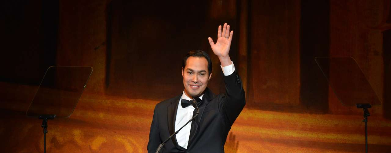 Meanwhile, the mayor of San Antonio, Julian Castro, who was responsible for the opening speech at the Democratic Convention, made a short speech.