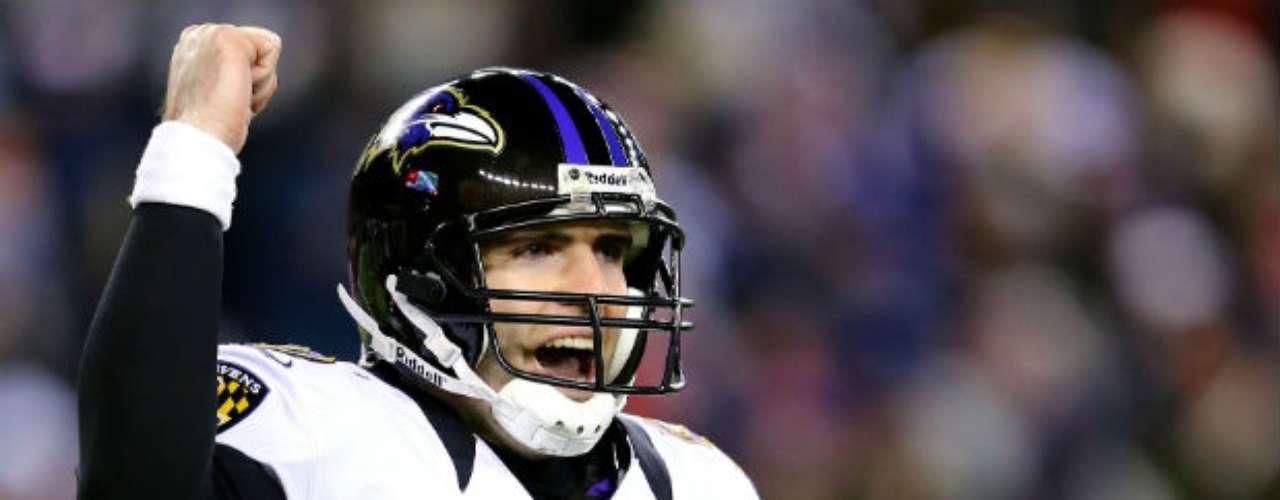 Del lado de los Ravens, Joe Flacco buscará darle a la franquicia su segundo Super Bowl. El mariscal, en su quinta temporada, ha mostrado ya tener madurez y paciencia ante los momentos de apremio. Su mayor cualidad en los play offs ha sido no cometer errores.