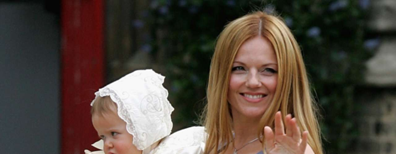 BLUEBELL MADONNA. Geri Halliwell combinó su flor preferida con el nombre de su cantante favorita para bautizar a la hija que trajo al mundo en 2007.