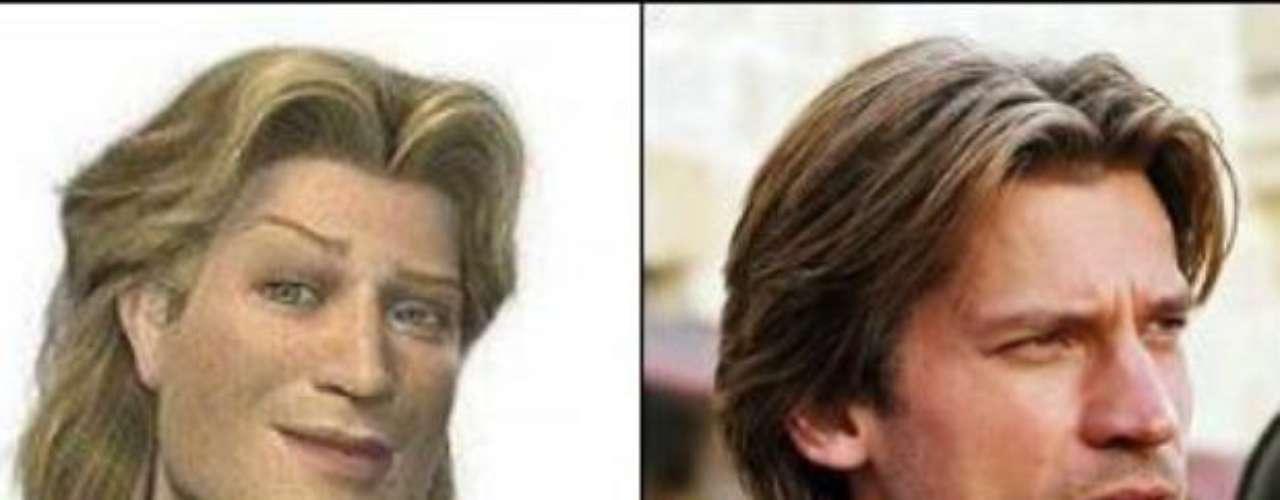 El personaje Jamie Lannister de \