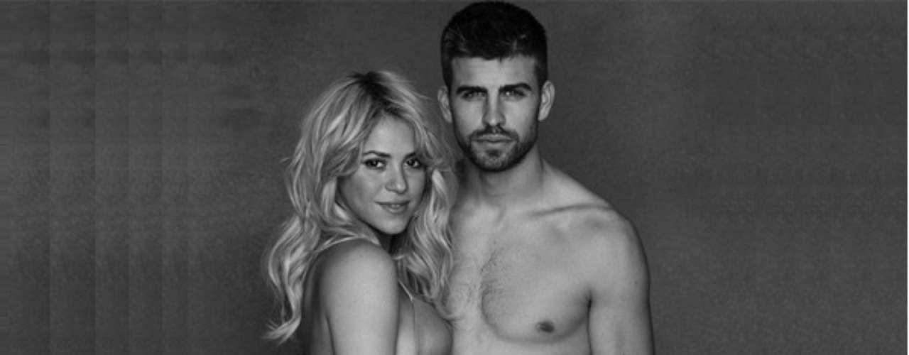 Las fotos del Baby Shower: En la recta final de su embarazo, Piqué y Shakira participaron en un proyecto de Unicef en pro de los infantes del mundo. Allí, la cantante lució su embarazo de nueve meses.