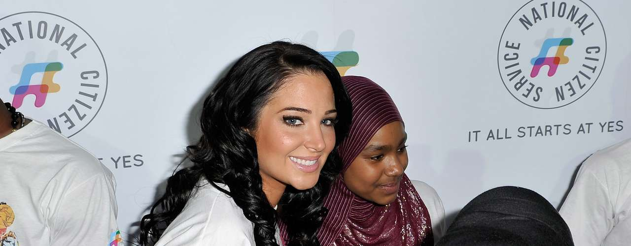 'The X-Factor U.K.' judge, Tulisa Contostavlos, was looking casual for the NCS 2013 London launch. The \