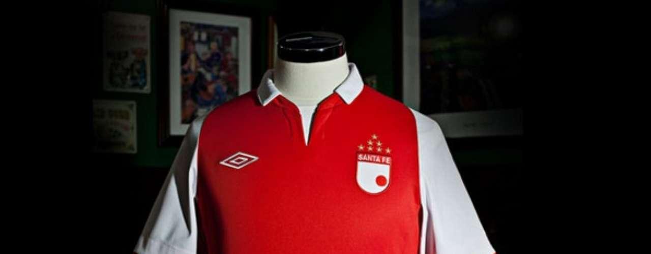 Camiseta de Independiente Santa Fe para este 2013