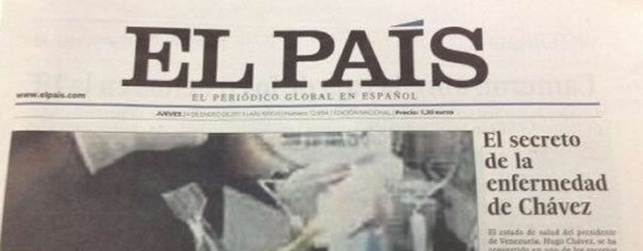 El Pais published a photo of Hugo Chavez convalescing, it said, but hours later rpelaced it with one of a hairless Chavez that turned out to be fake. Immediately, the editors took the photo down.