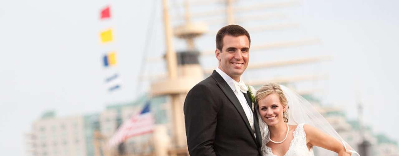 Dana Grady y Flacco fueron pareja desde el colegio y finalmente se casaron en el 2011.