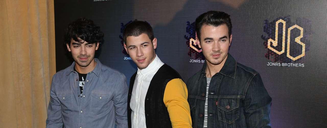 Joe, Nick y Kevin, regresaron con todo para promocionar su próxima gira por Latinoamérica.