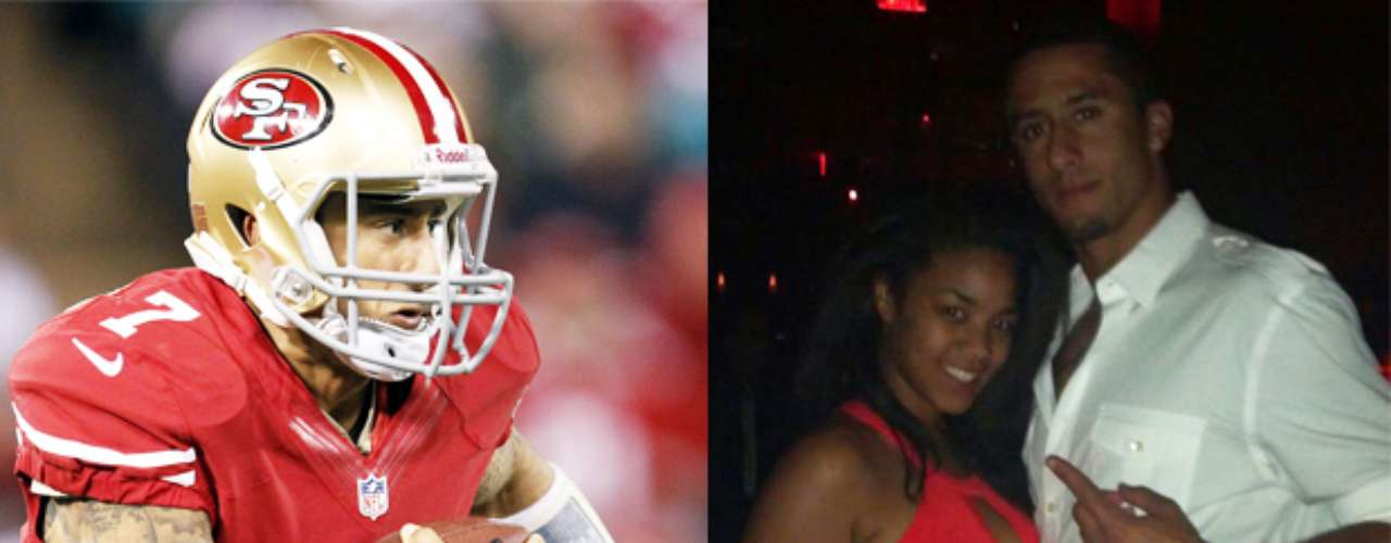 Colin Kaepernick, en un hecho insólito, dejó a su novia de la Universidad luego de ser nombrado mariscal de campo titular de los 49ers, la novia se quejó en twitter diciendo que Colin quería prefería estar rodeado de \