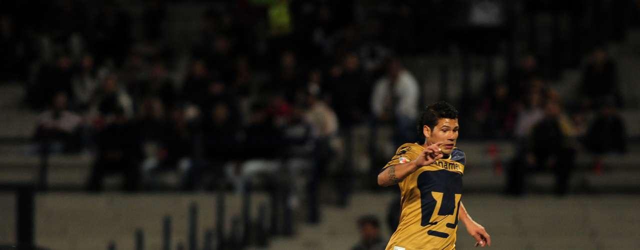 Robin Ramírez fue incisivo, quería anotar su gol a como diera lugar.