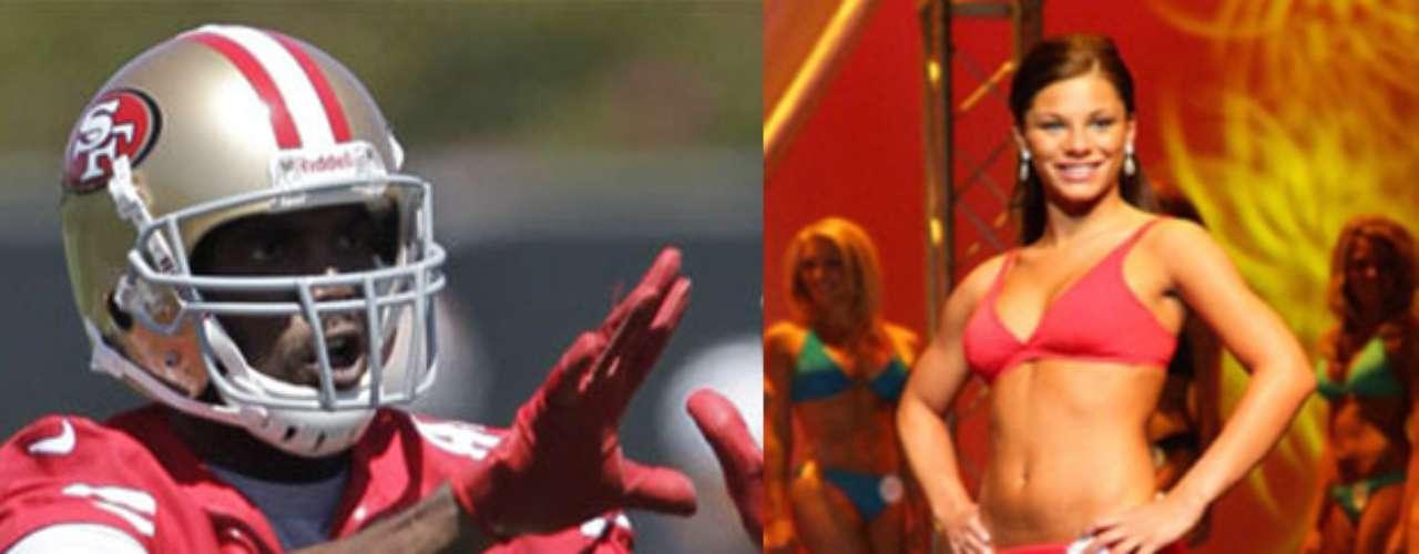 Randy Moss fue relacionado en sus tiempos en los Vikings con la Miss KentuckyAlysha Harris