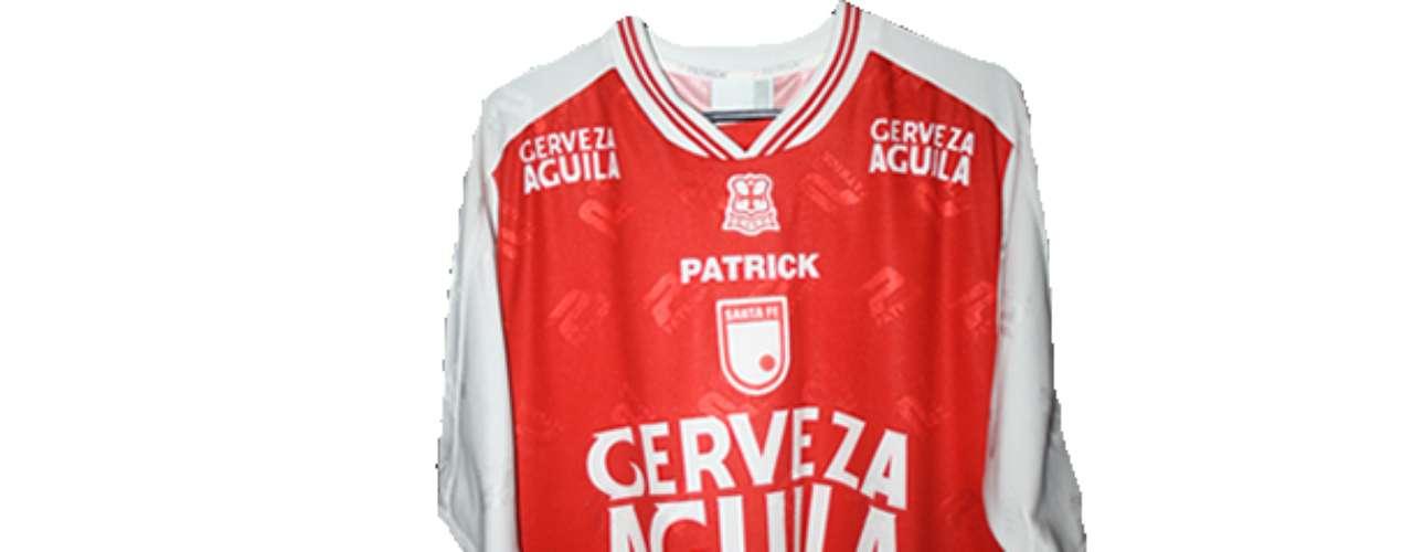 Camiseta de Independiente Santa Fe en año 2001