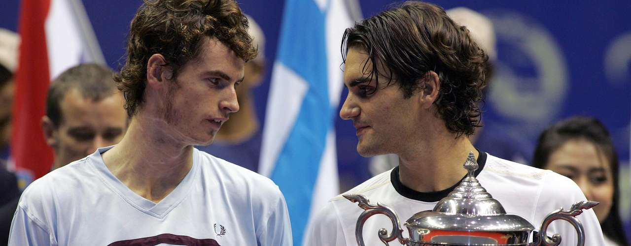 Todo nació en el 2005, cuando Murray y Federer se encontraron en la final del Abierto de Tailandia y el suizo salió victorioso en la final del torneo sobre cancha dura.