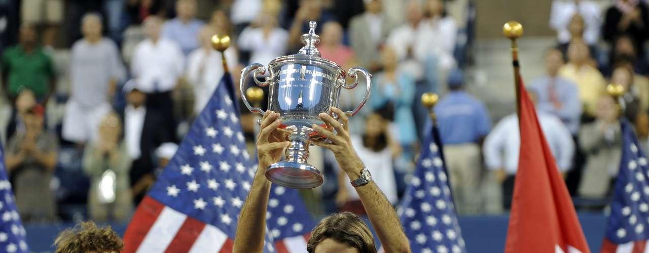 En el lejano 2008 Roger y Andy se encontraron en la final del US Open y Federer demostró su categoría de campeón al derrotar a Murray en sets consecutivos.