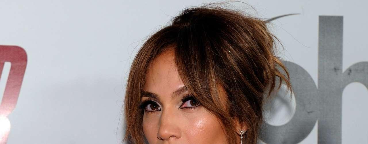 Como siempre, Jennifer Lopez lució impecable y hermosa