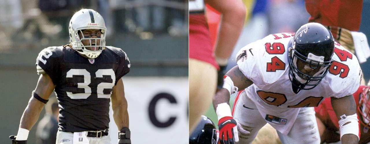 Henri y Zack Crockett. Henri jugó con los Halcones de Atlanta en el SBXXXIII, mientras que Zack jugó con los Raiders de Oakland en el SBXXXVII.