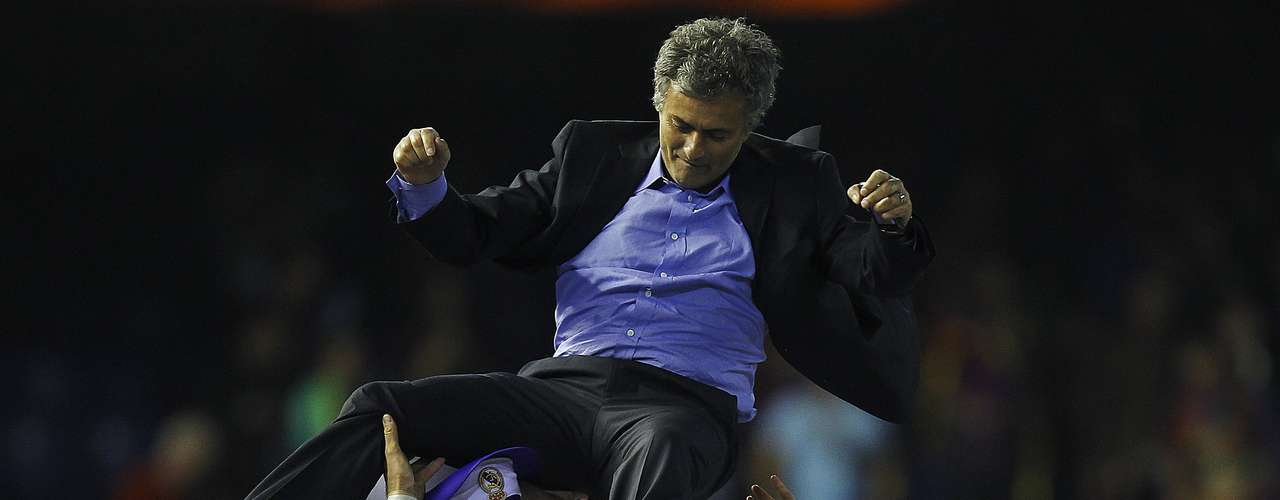 Hip, hip, hooray! Jose Mourinho celebrates his 50th birthday on Saturday, January 26. That's half a century for the \