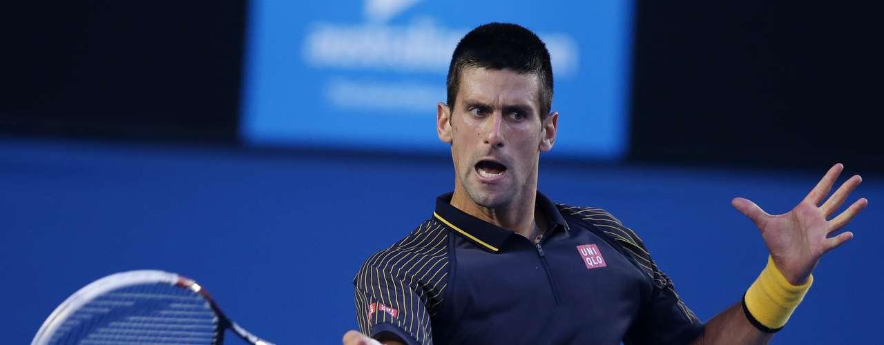 Djokovic reaccionó poco a poco en el juego.