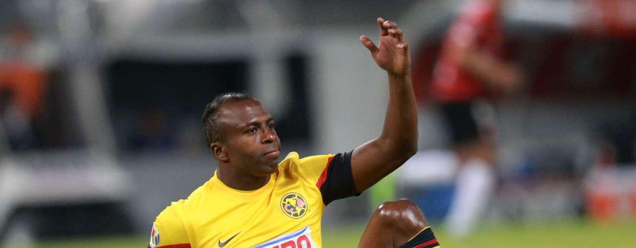El delantero ecuatoriano perdonó en varias ocasiones y sus errores le costaron la primera derrota al América.