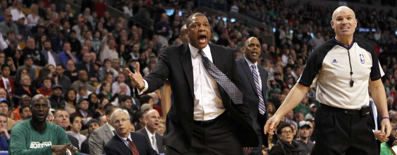 Boston Celtics head coach Glenn \