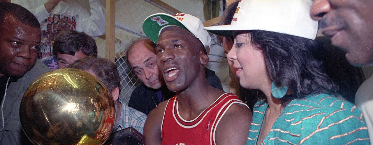 The individual awards and honors were a lot, but all that eluded Jordan was an NBA championship. After seven frustrating seasons, finally he climbed the mountain in 1991, when his Bulls defeated the Lakers in five games.