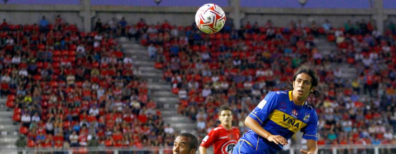 Ñublense y Everton no se hicieron daño en el sur de nuestro país al igualar 1-1 en su redebut en la Primera División de nuestro país.