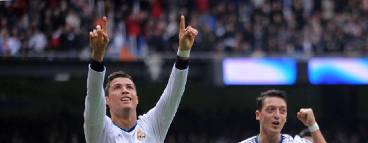 El portugués suma ya más de 100 goles en el Santigo Bernabéu con la camiseta del Real Madrid.