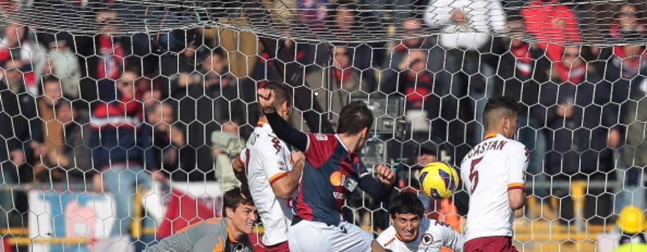 Roma y Bolonia protagonizaron una feria de goles (3-3).