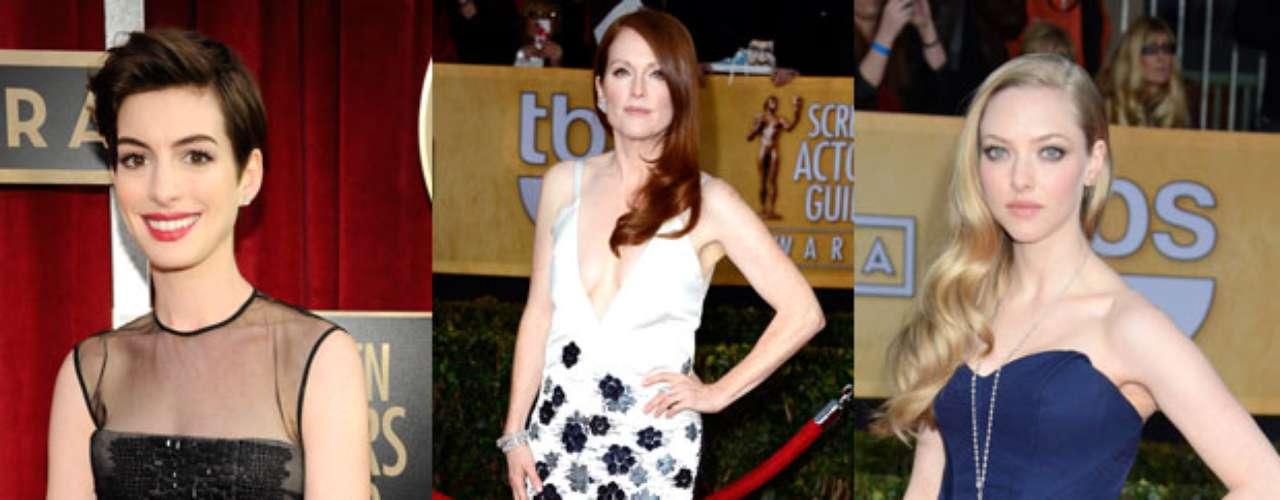 Así fue la llegada de las más grandes estrellas a la alfombra roja de los Screen Actors Guild Awards 2013, show donde los más destacados rostros del mundo de la actuación hacen entrega de estos importantes premios a sus colegas del cine y la televisión, en un evento sin precedentes, donde muchos lucieron sus mejores galas, y combinaron la belleza con el glamur.