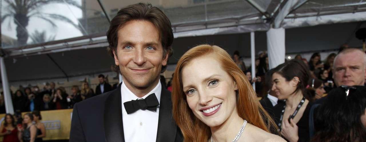 ¡OMG! ¿Bradley Cooper y Jessica Chastain?