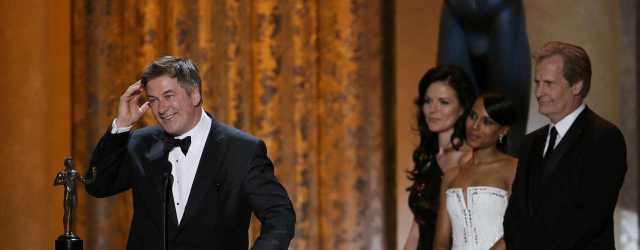 Alec Baldwin gana el SAG Awards en la categoría de mejor actor de comedia por \