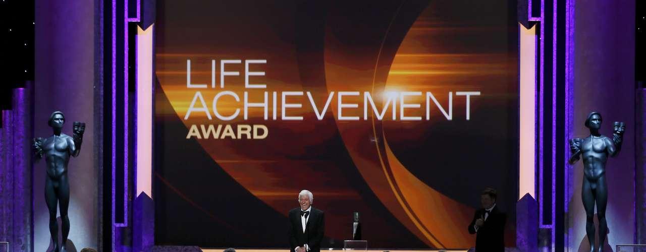 Dick Van Dyke fue reconocido con el premio a la trayectoria
