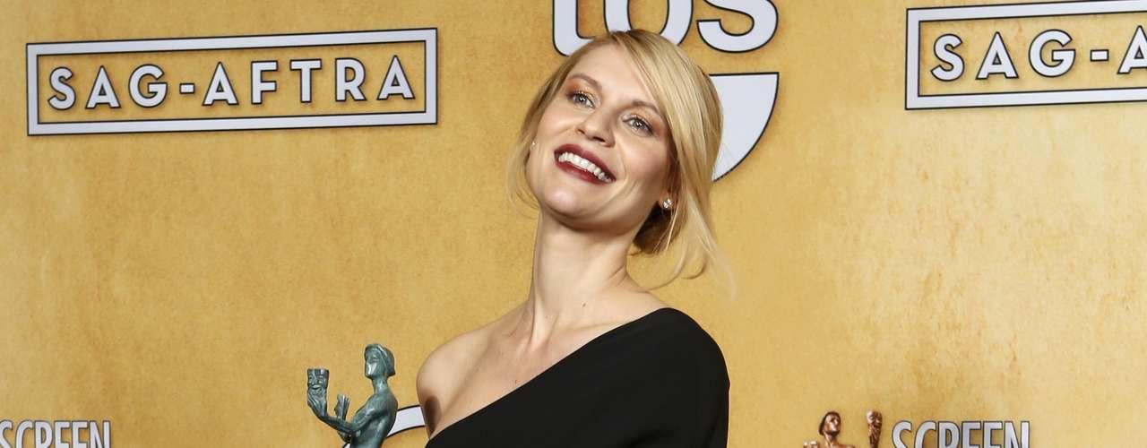 Mejor actriz en serie dramática:Claire Danes - Homeland