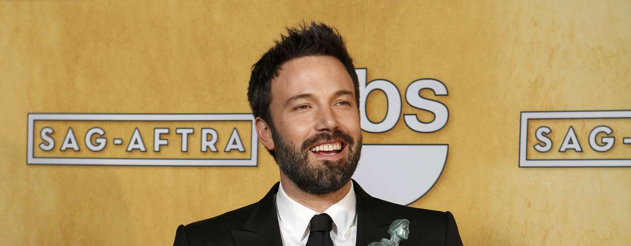 Hollywood came together to honor the best talent in film and television at the Screen Actors Guild Awards. Take a look at the lucky recipients of the Actor!  Director and actor Ben Affleck holds the award for outstanding performance by a cast in a motion picture for \