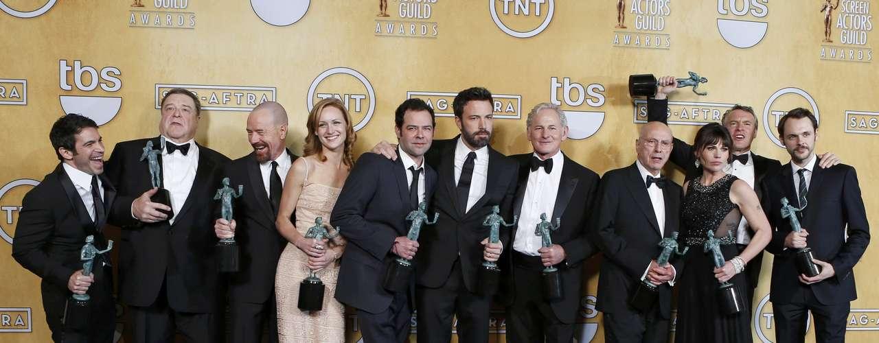Mejor elenco de película:Argo