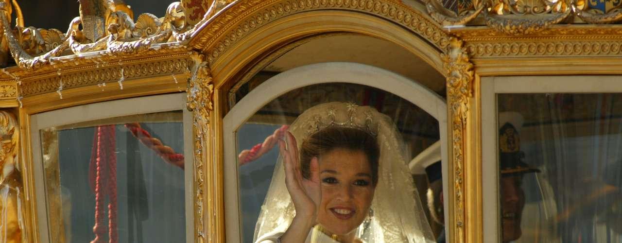 La princesa, nacida en Buenos Aires hace 41 años, se convertirá en reina el 30 de abril tras el anuncio el lunes de la abdicación de la reina Beatriz en favor de su hijo mayor, Guillermo-Alejandro.