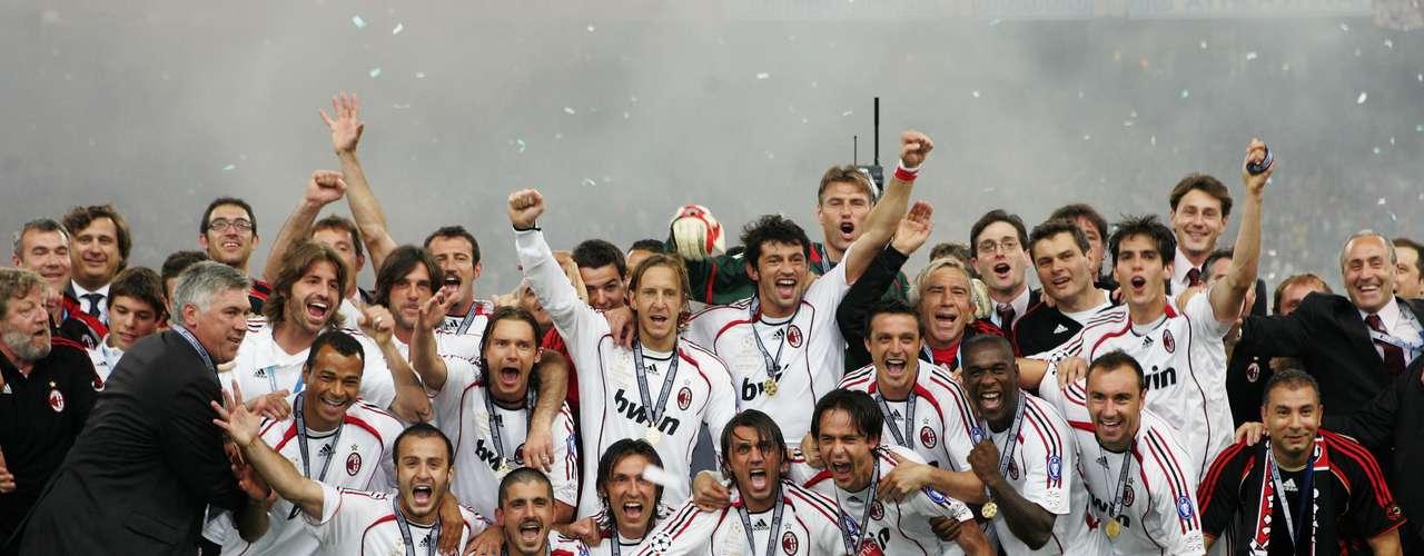 Milan es el segundo equipo con más Copas de Europa en sus vitrinas con siete títulos