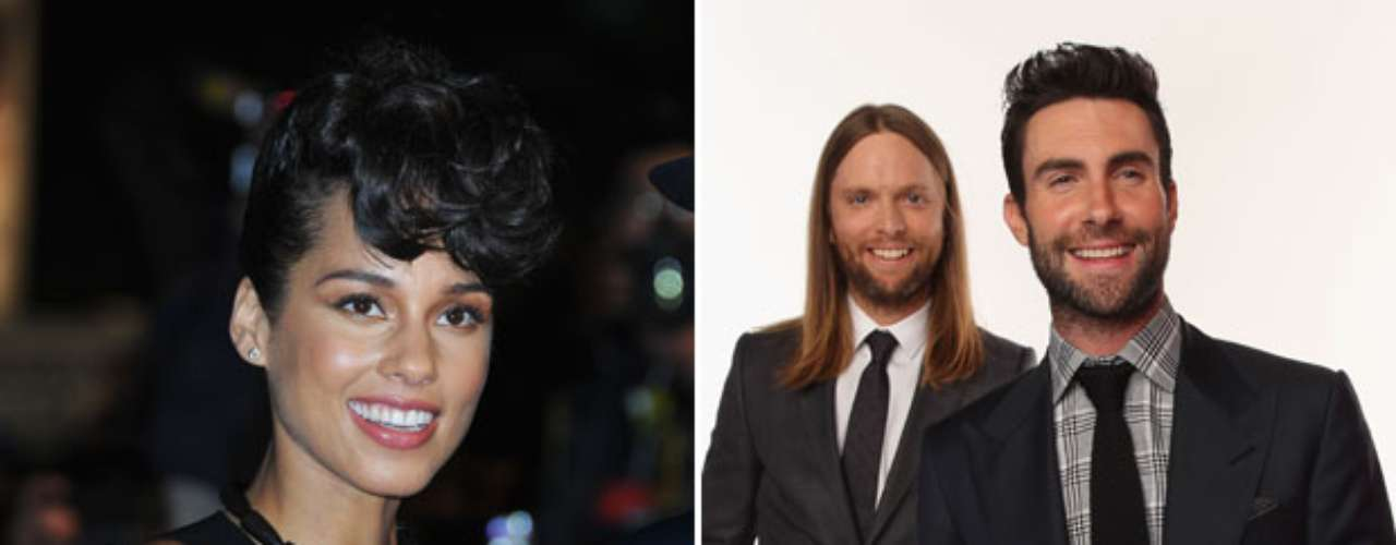 "Alicia Keys confirmed via Twitter she will be collaborating with Maroon 5 at the Grammys this year. ""Wait until you see what I do with @maroon5 on @TheGRAMMYs Feb. 10 on @CBSTweet. #TheWorldIsListening ;-)"" she tweeted."