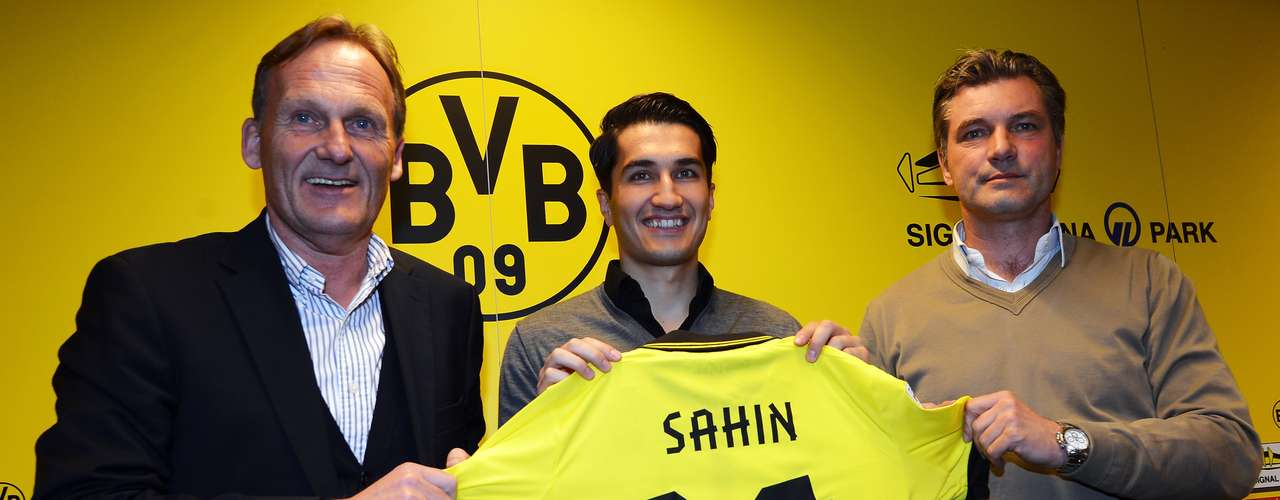 Turkish/German Nuri Sahin is returning to his first club Borussia Dortmund on a loan after spending just one season with Real Madrid and six months with Liverpool.