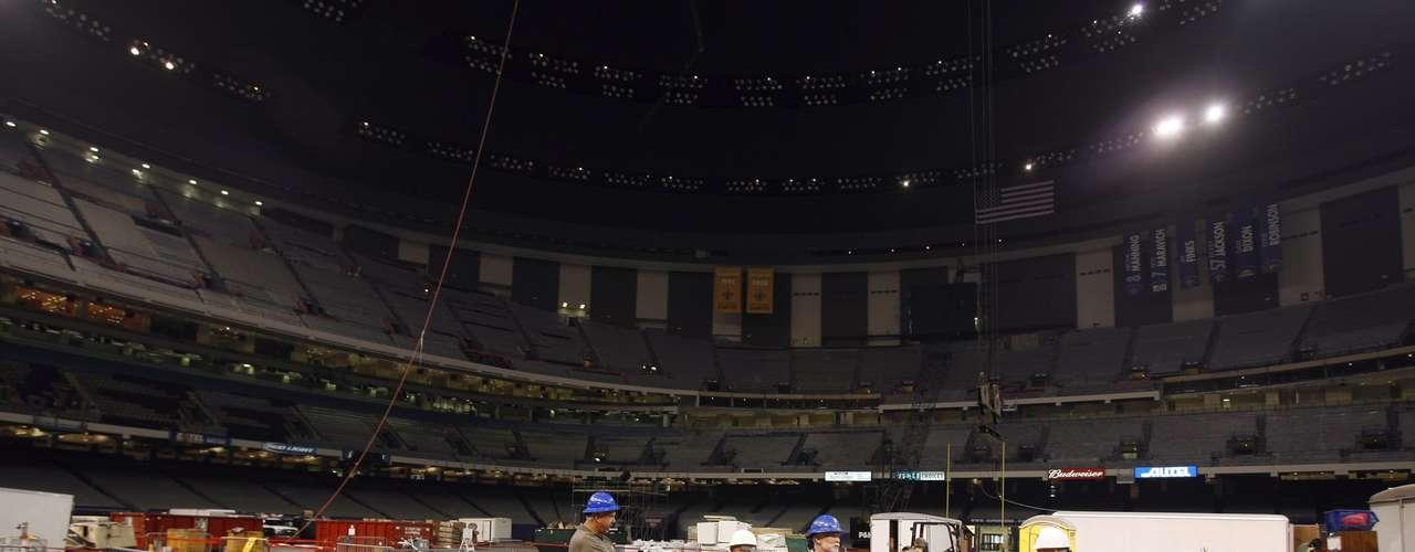 Las reparaciones y remodelación del Superdome después de Katrina iniciaron a principios de 2006, y tuvieron un costo de $185 millones de dólares.
